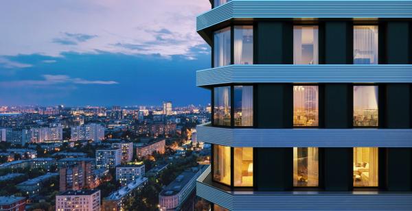 Жилой комплекс D1 в Москве © MR-Group
