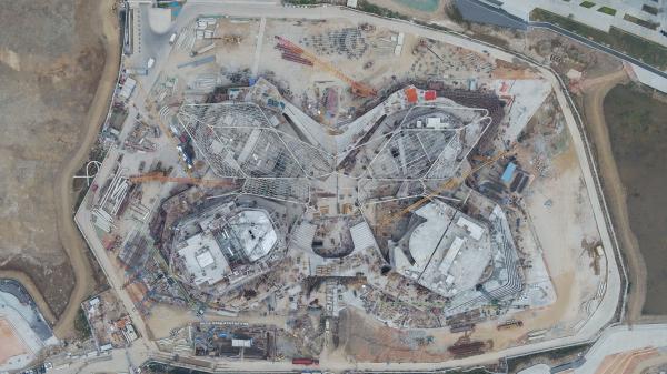 Общественный центр искусств Цзиньвань Фото © Zaha Hadid Architects