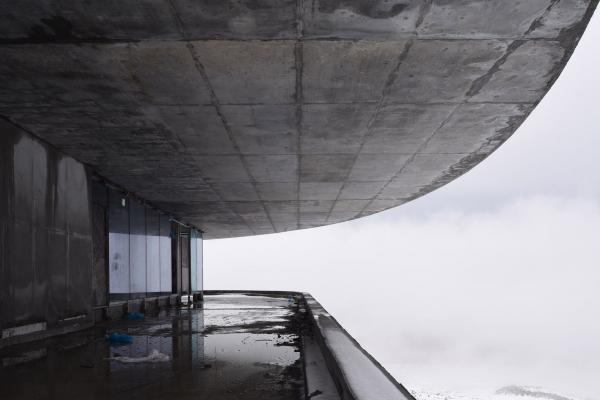 The restaurant in the mountains Copyright: © Kleinewelt Architekten