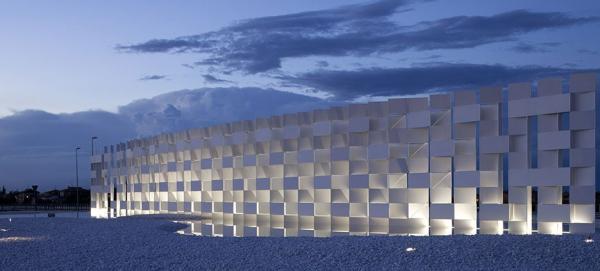 Инсталяция Cloud,   архитектор Kengo Kuma  © Lucido