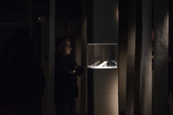 Выставка «0.8.5» в Музее истории ГУЛАГа, которую создали студенты первого потока курса в марте 2020 года © Фотография предоставлена пресс-службой МАРШ