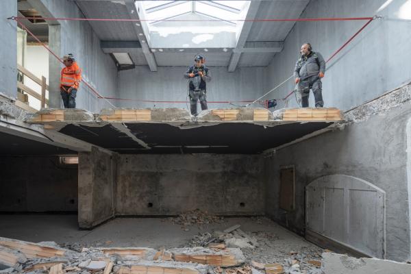 Павильон РФ в Джардини, работы по реконструкции, 02.2021 Фотография © _marcocappelletti