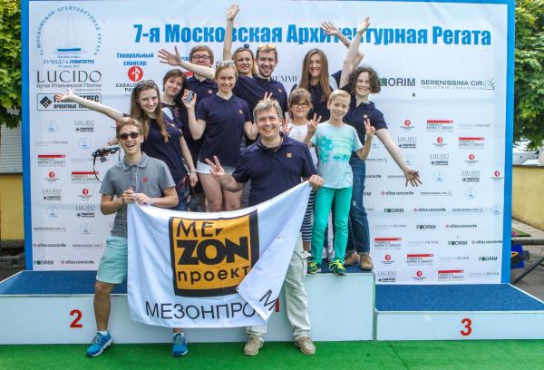 Илья Машков и команда Mezonproekt  © Lucido