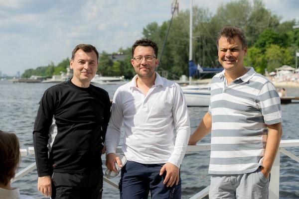Константин Абрамов, Алексей Гинзбург и Александр Бурыкин © Lucido
