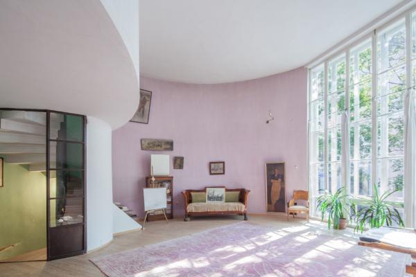 Дом Мельникова. Гостиная на 2 этаже  Фотография © Денис Есаков. Предоставлено Музеем архитектуры