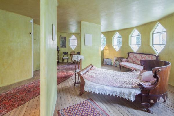 Дом Мельникова. Спальня на 2 этаже  Фотография © Денис Есаков. Предоставлено Музеем архитектуры