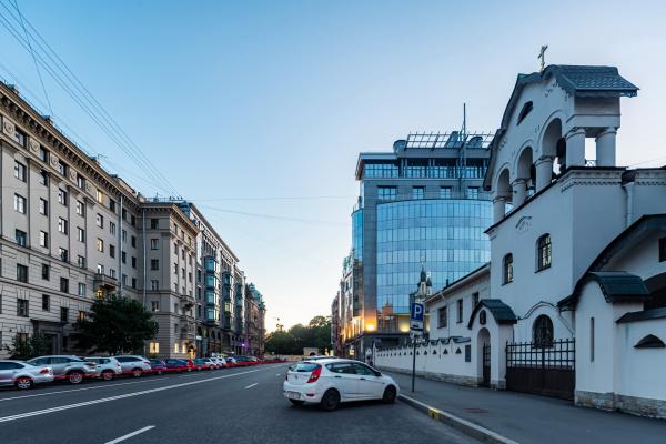 The residential house at Tverskaya, 6 Copyright: © Evgeniy Gerasimov & Partners
