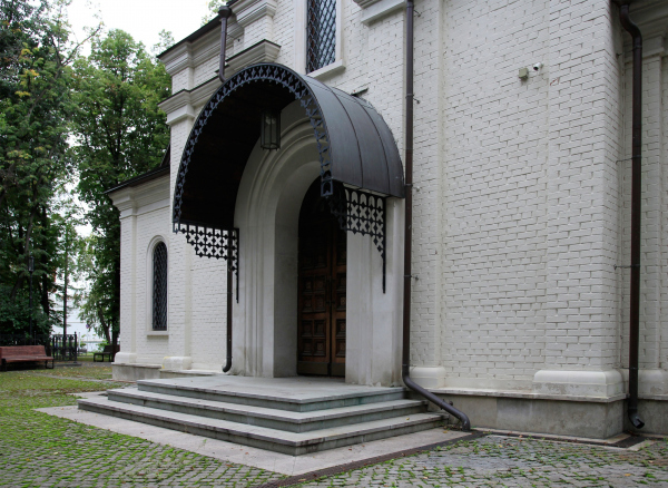 Church of the Beheading of John the Baptist at the Novodevichy Convent Copyright: Photograph: Archi.ru