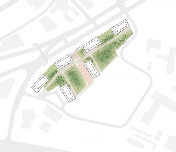 The master plan. EVER residential complex Copyright: © GAFA