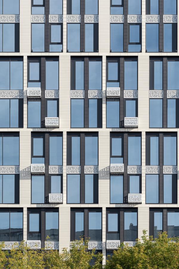 """Апартаментный комплекс """"Play"""" Фотография © Ярослав Лукьянченко / предоставлена ADM architects"""