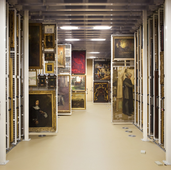 Королевский музей изящных искусств в Антверпене – реконструкция Фото © Karin Borghouts