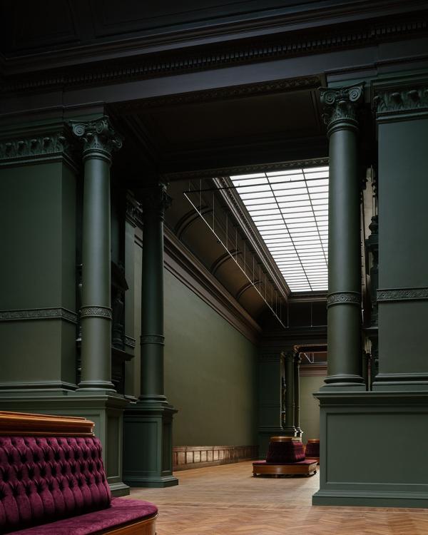 Королевский музей изящных искусств в Антверпене – реконструкция Фото © Stijn Bollaert