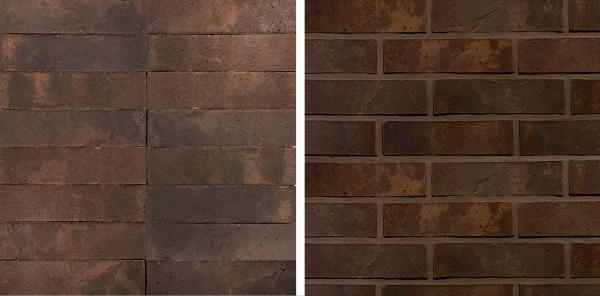 Bergen Nordic Klinker. Цвет коричневый пёстрый Предоставлено © Wienerberger