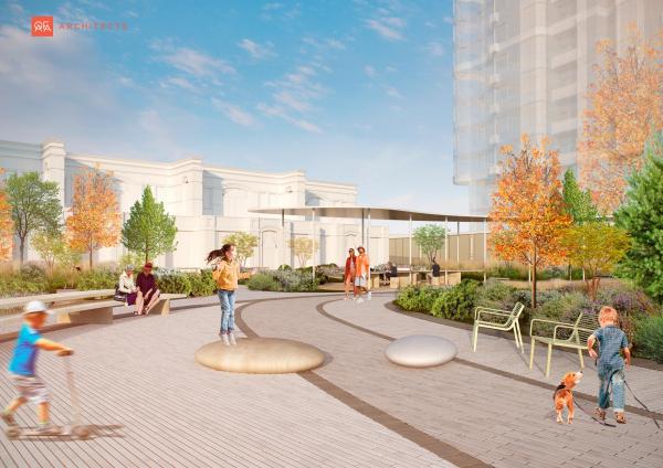 Городские резиденции «Spires» © GAFA Architects