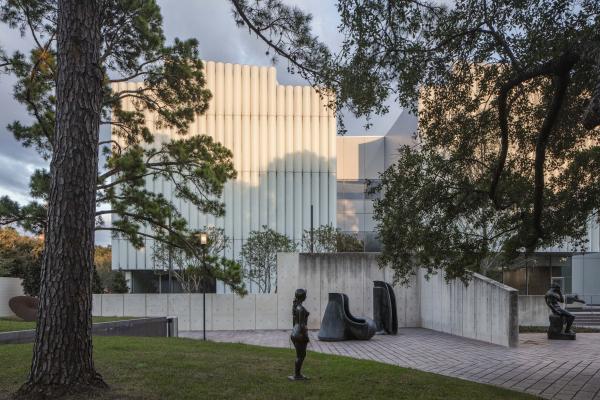 Корпус Киндер Хьюстонского музея изобразительных искусств Фото © Richard Barnes, предоставлено Museum of Fine Arts, Houston