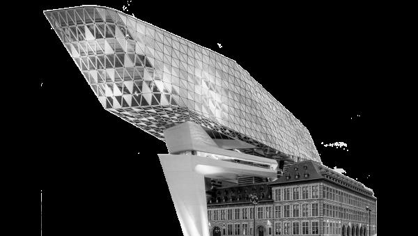Морской вокзал в Антверпене. Zaha Hadid Architects © предоставлено Delabie