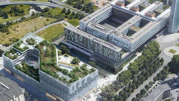 Inf,-квартира MEL в Лилле. Henning Larsen Architects et KeurK Architecture © предоставлено Delabie
