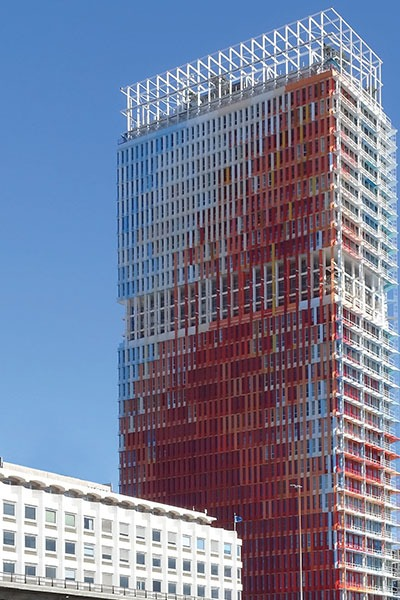 Башня Мрсельеза в Марселе. Jean Nouvell © предоставлено Delabie