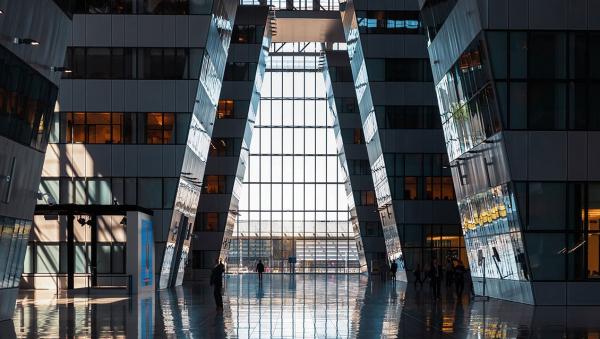 Штаб-квартира НАТО в Брюсселе. Skidmore, Owings and Merrill (SOM) © предоставлено Delabie