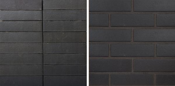 Grafit Klinker. Цвет чёрный  Предоставлено © Wienerberger