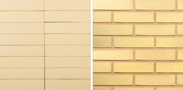 Коллекция Ceramic Classic. Safari Гладкий. Цвет жёлтый Предоставлено © Wienerberger