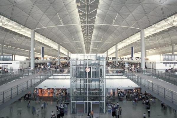 Международный аэропорт в Гонконге. Norman Foster and Partners © Norman Foster and Partners