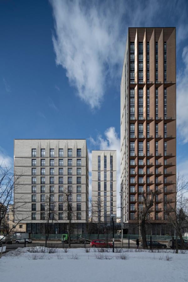 The housing complex Medny 3.14 Copyright: Photograph © Daniel Annenkov, 2021