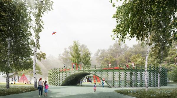 Парк «Швейцария». Детский центр в детском парке © Kosmos Architects