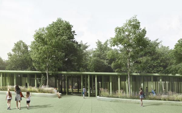 Парк «Швейцария». Рестораны в Центральном парке © Kosmos Architects
