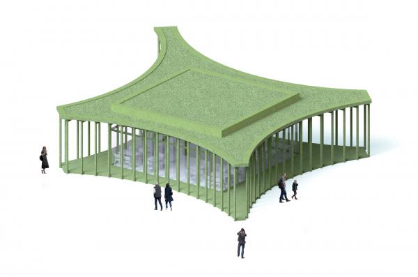 Парк «Швейцария». Кафе в Спортивном парке © Kosmos Architects