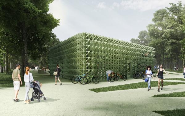 Парк «Швейцария». Прокат в Спортивном парке © Kosmos Architects