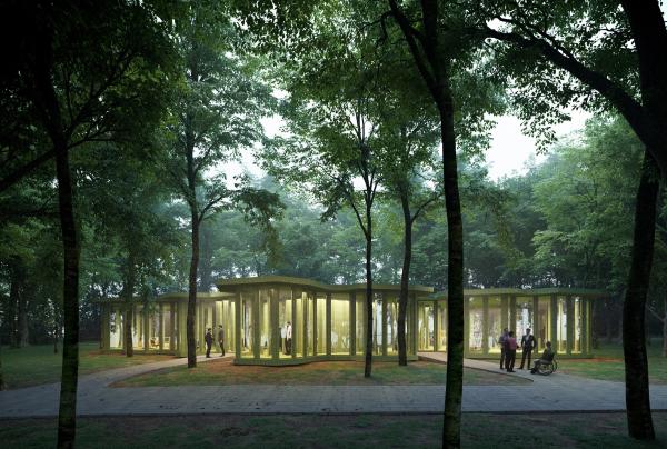 Парк «Швейцария». Инвадром в Местном парке © Kosmos Architects