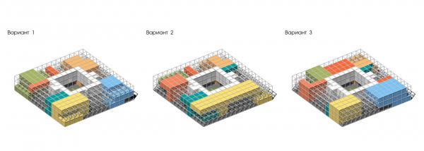 Проммодули. Разнообразие конфигураций модулей  © TRY