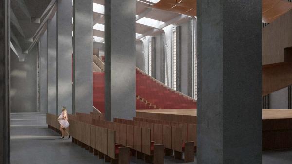 Концертный зал «Мендельсон» © ХВОЯ