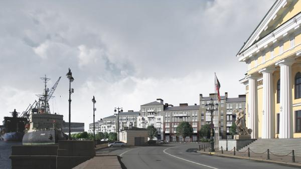 Жилой комплекс «Красин» © Студия 44 / предоставлено пресс-службой КГА