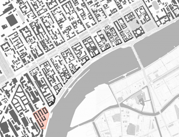 Жилой комплекс «Красин». Образование новых кварталов. © Студия 44 Изображение предоставлено пресс-службой КГА