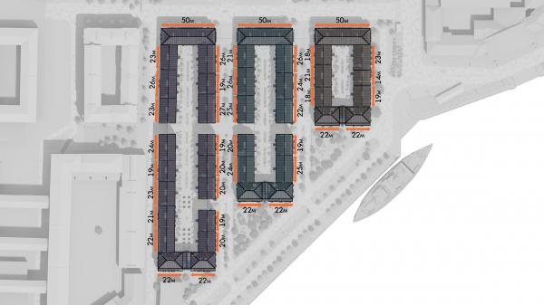 Жилой комплекс «Красин». Проектное предложение © Студия 44 / предоставлено пресс-службой КГА