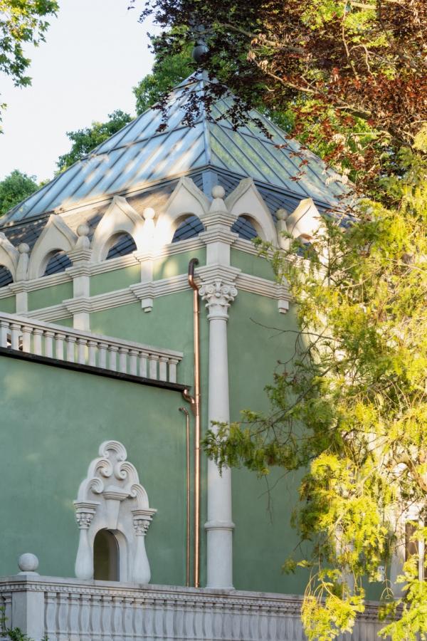 Реконструкция павильона России на биеннале в Венеции, 2020-2021 / реализация / 05.2021 Фотография © Марко Каппеллетти
