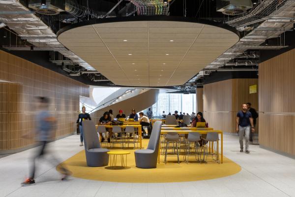 UTS Central – корпус Технологического университета Сиднея  Francis-Jones Morehen Thorp Pty Ltd. Фотография © Rodrigo Vargas