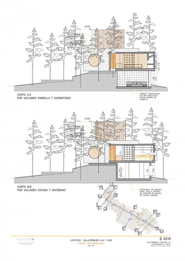 Дом Villa Robles © Estudio Diez Pasos