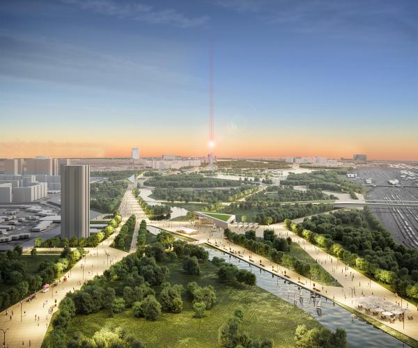 Конкурсный проект регенерации и развития территории поймы и прилегающих территорий реки Свияги НИиПИ Градостроительства Московской области