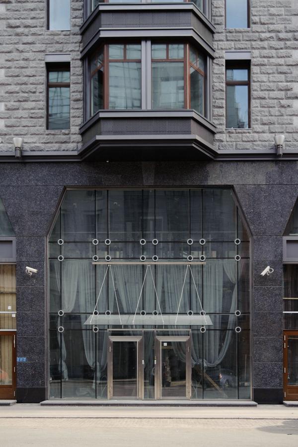 The residential house at Tverskaya, 1 Copyright: Photograph © A. Naroditsky / Provided by Evgeniy Gerasimov & Partners
