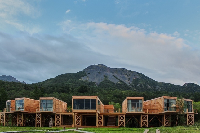 Отель «Высоко в горах». Камчатка.