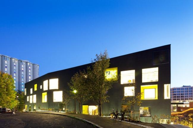 Школа коммуникаций Westerdals. Фото KJARK - Benjamin Hummitzsc