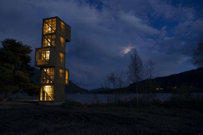 Смотровая вышка в Сельюре © Rintala Eggertsson Architects