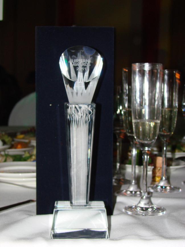 Награда на столе победителей. ФОТО Л. Романовской