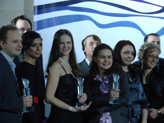 Церемония закрытия. Общий сбор призеров. ФОТО Л. Романовской