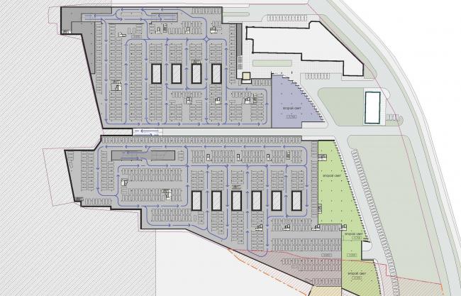 План -1 этажа