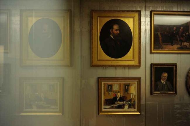 Штаб-квартира N M Rothschild & Sons - Нью-Корт © OMA, Charlie Koolhaas