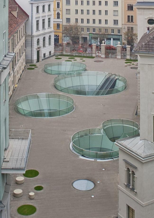 Музей Иоаннеум - реконструкция двора © UMJ / N. Lackner